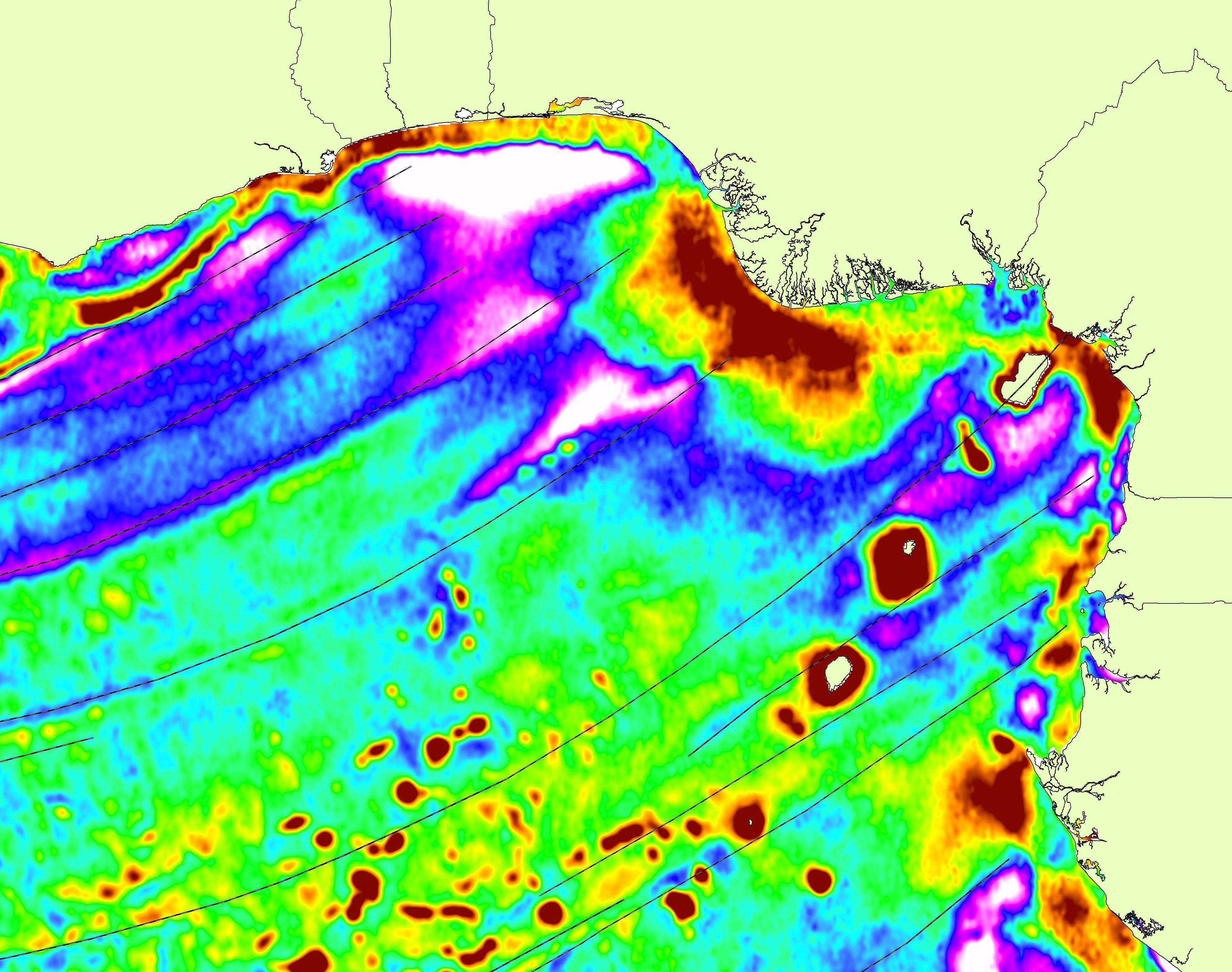 South Atlantic Report Digital Map Example